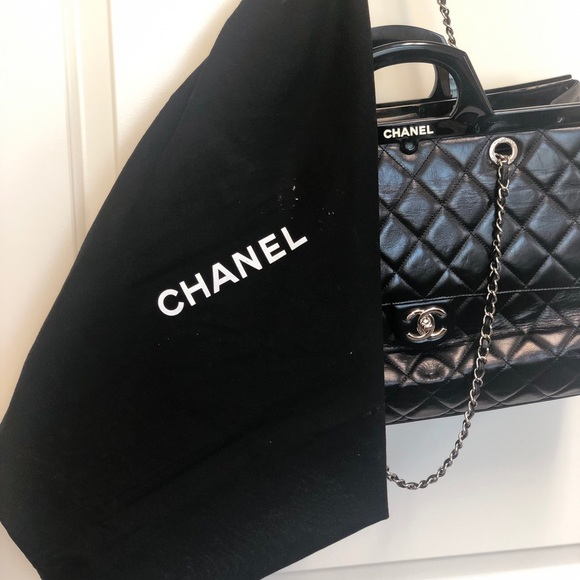80b1aa226107 CHANEL Bags | Cc Delivery Tote | Poshmark